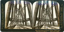 Stereoview of the Forth Rail Bridge
