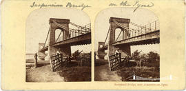 Stereoview of the Scotswood Bridge