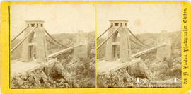 Stereoview of Clifton Suspension Bridge