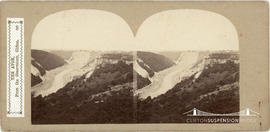 Sedgfield's English Scenery stereoview of the Avon Gorge taken from the observatory