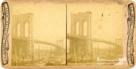 Stereoview of Brooklyn Bridge