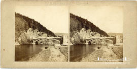 Stereoview of Craigellachie Bridge, Scotland