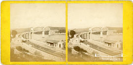 Stereoview of the Royal Albert Bridge, Saltash