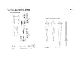 Details of suspension rods