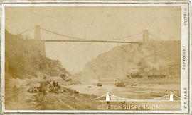 Photograph of Clifton Suspension Bridge