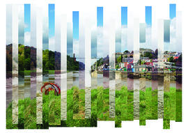 Four Seasons of Clifton Suspension Bridge